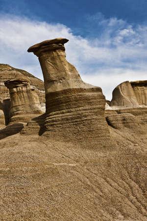hoodoos: Hoodoos near Drumheller - Alberta - Canada