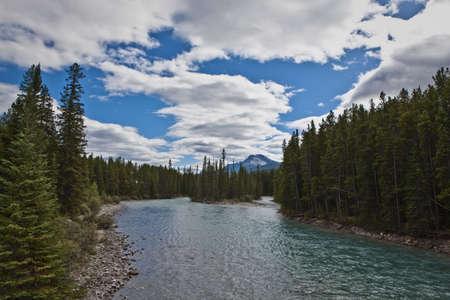 Pipestone River near Lake Louise - Banff National Park
