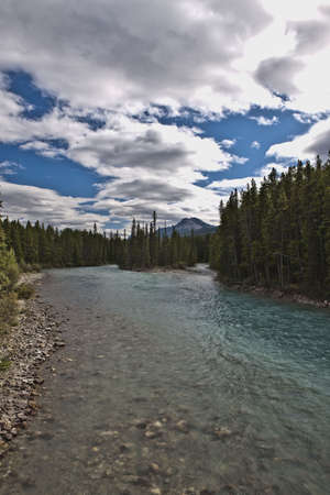 Pipestone River near Lake Louise - Banff National Park photo