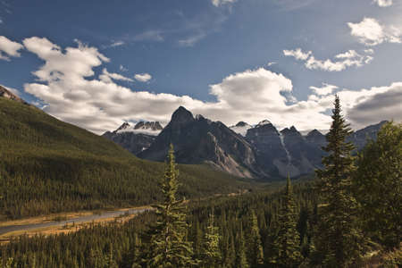 Bow River Valley - Banff National Park - Alberta - Canada