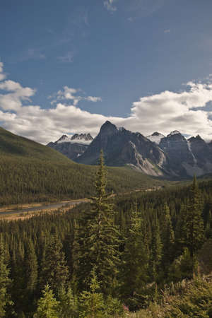 Bow River Valley - Banff National Park - Alberta - Canada
