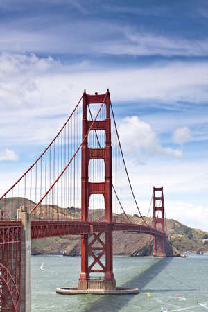 Golden Gate Bridge - San Francisco Stock Photo