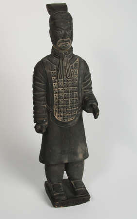 terra cotta: Chinese terra cotta warrior with beard