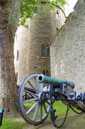 Castle and Cannon at the Tower of London
