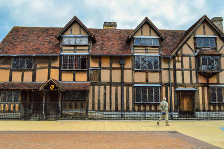 birthplace: The birthplace of playwright William Shakespeare in Stratford-upon-Avon, England