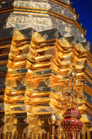 doi: Golden mount at Doi Suthep temple