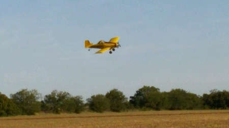 duster: Crop duster Stock Photo