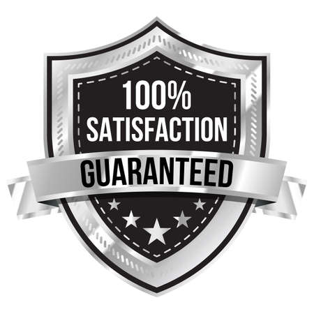 satisfaction guaranteed: 100% Satisfaction Guaranteed Label