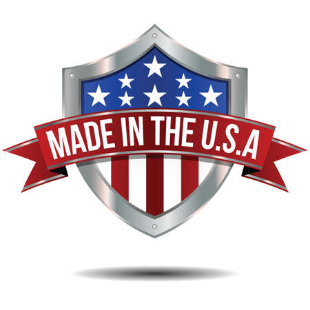usa: Made in the USA - Shield