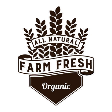 fresh food: Farm Fresh Food Label