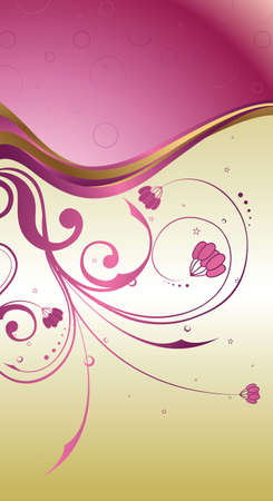 14: Pearl Floral 1-4  Vectores