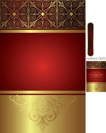 golden background Stock Vector - 3124196