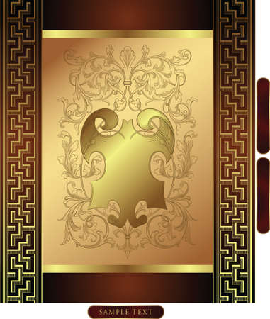 golden background Stock Vector - 3124203