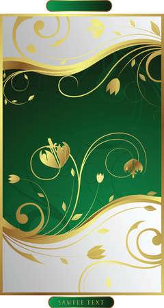 green floral Stock Vector - 3124186