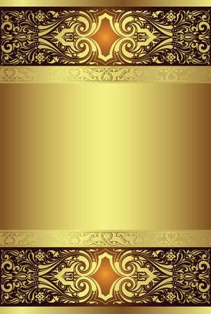 sfondo dorato