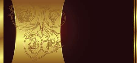 golden background Stock Vector - 3124191