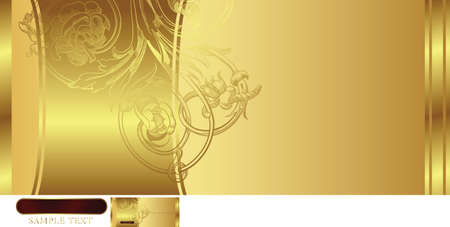 golden background Stock Vector - 3124201