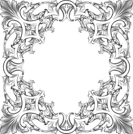 flroal design element Illustration