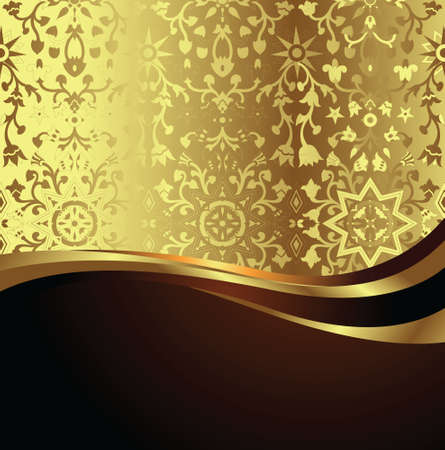 elegance floral background Vector