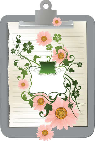floral frame Stock Vector - 3128917