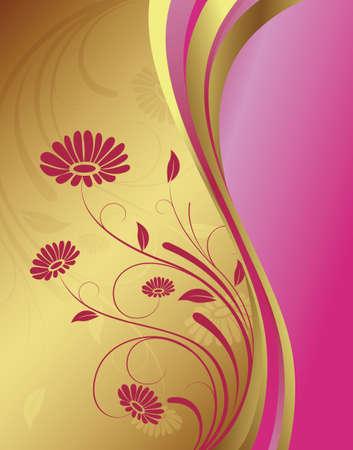 golden daisy: Golden fondo