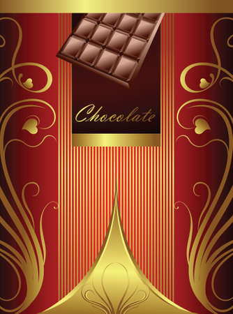 packaging design: Chocolate