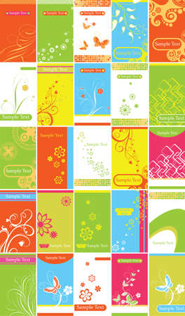 Flroal Design Backgrounds Vector