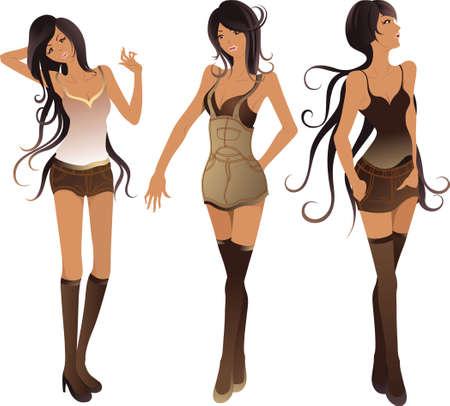 Fashion Lady Vector