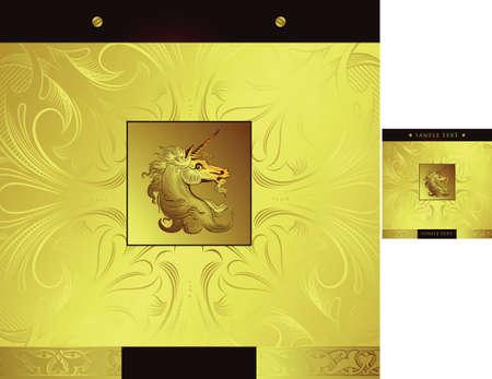 chocolate box: Unicorn Illustration