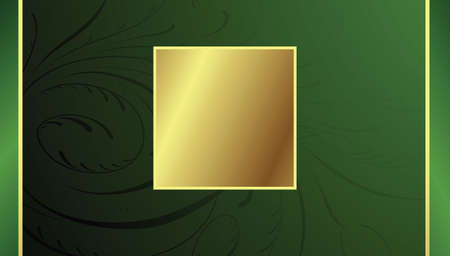 Golden Frame Illusztráció