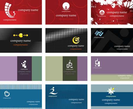 Card and Logo Design Vector