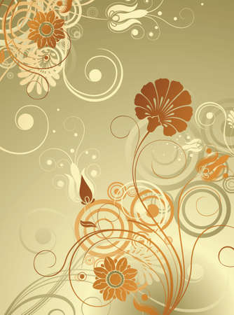 emit: Floral Design Background
