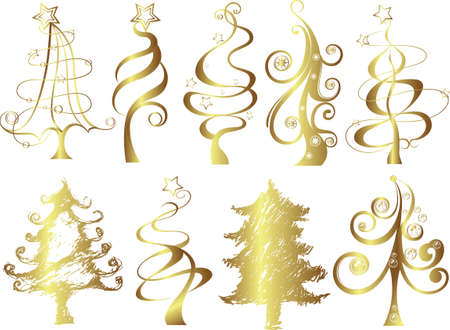 christmas tree Stock Vector - 3488131