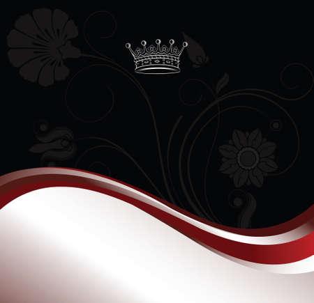 corona navidad: de fondo cl�sico con corona