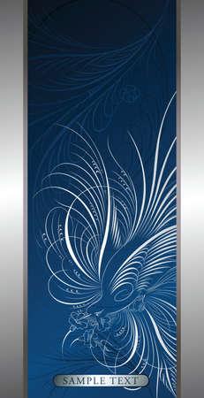 elegant design background with bird