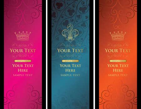 royal design backgrounds Stock Vector - 3593565