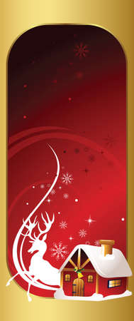 christmas party invitation card Vector