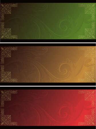 elegant design backgrounds Stock Vector - 3606757
