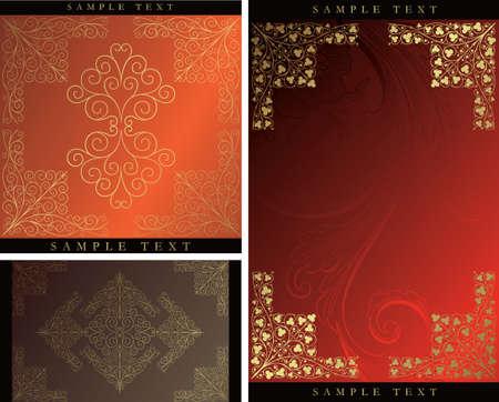 elegant design backgrounds Stock Vector - 3606756