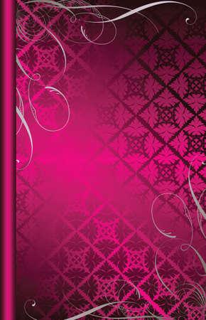 pinky: elegant floral design background 3