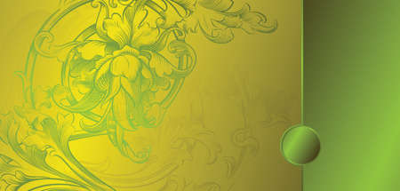 lime: classic lime floral background