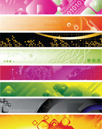 abstract design banners Stock Vector - 3771325