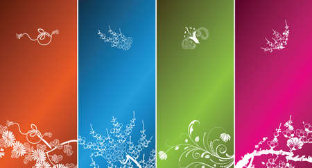 spring backgrounds Stock Vector - 3803067