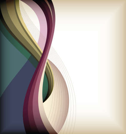 curve line: abstract design background 4 Illustration