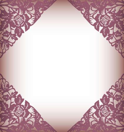 pink pearl: elegant floral background