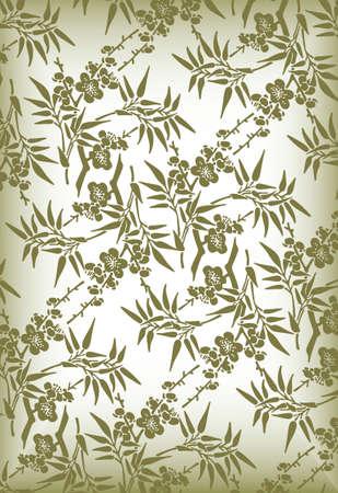 elegant floral pattern Stock Vector - 3895286