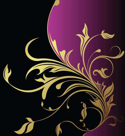 elegant vector: floral background