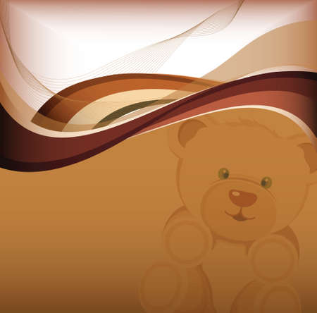 toy bear: teddy bear Illustration