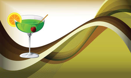 cocktail - party drink Vector