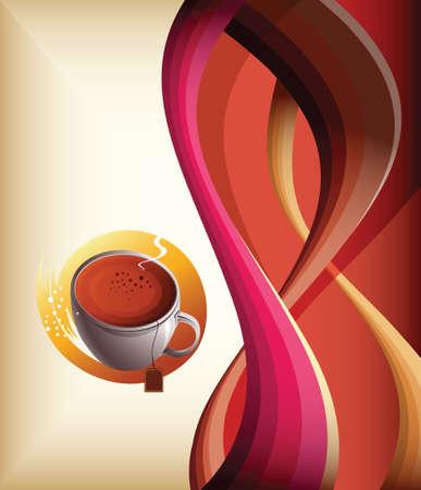 coffee tea Vector